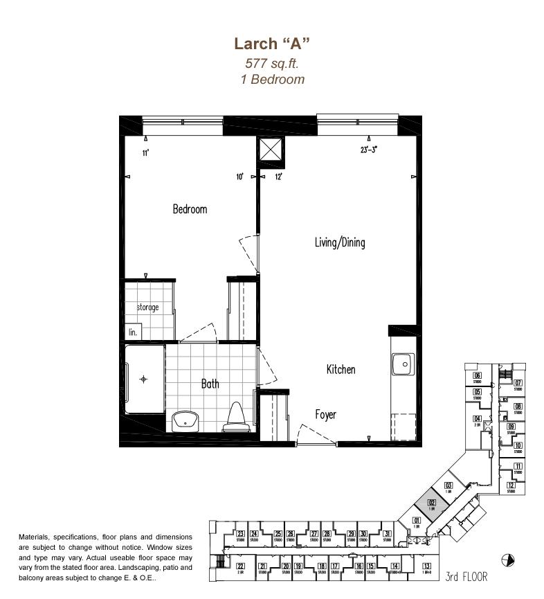 LarchA_Floorplan