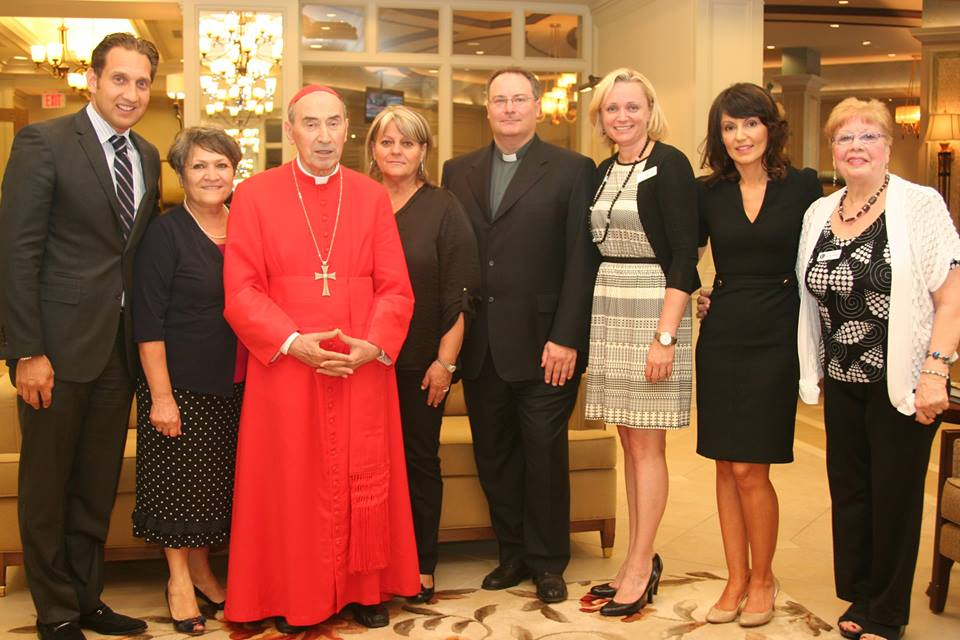 His Eminence De Paolis Visits Richview Manor